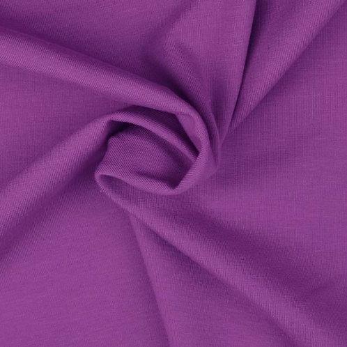 Organic Baumwoll Jersey uni lila