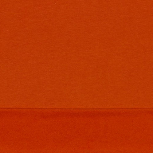 Soft Sweat GOTS -Pumpkin orange
