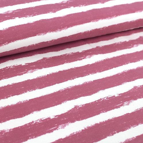 Bio-Sweat Mellow Stripes - vintage rose