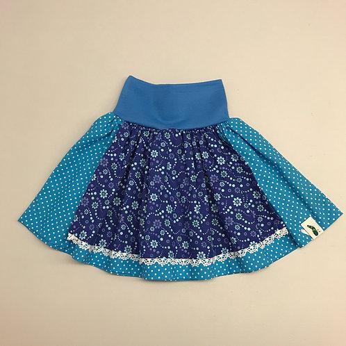 Trachtenrock blau/blau