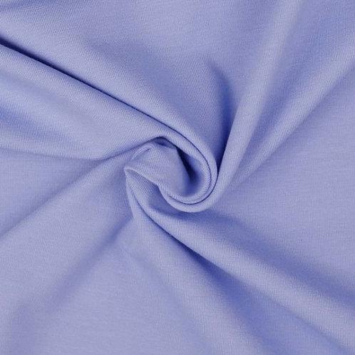 Organic Baumwoll Jersey uni blau
