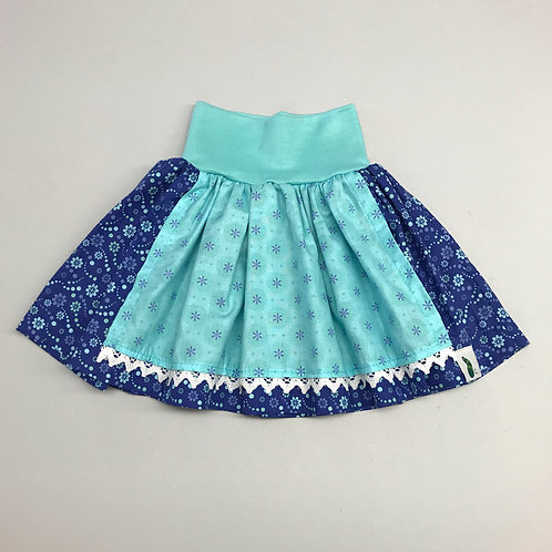 Trachtenrock blau/mint