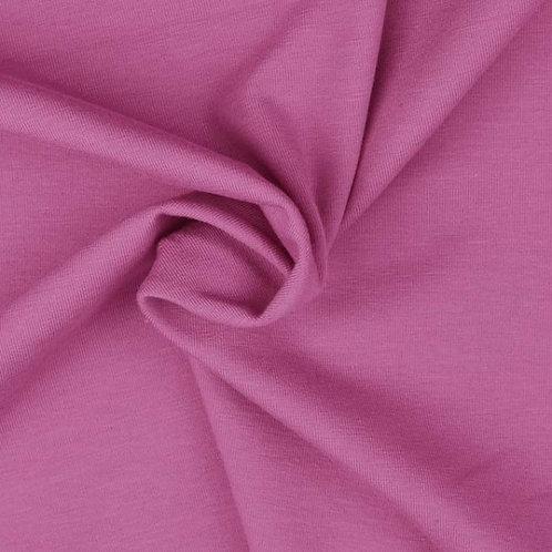 Organic Baumwolljersey Uni pink