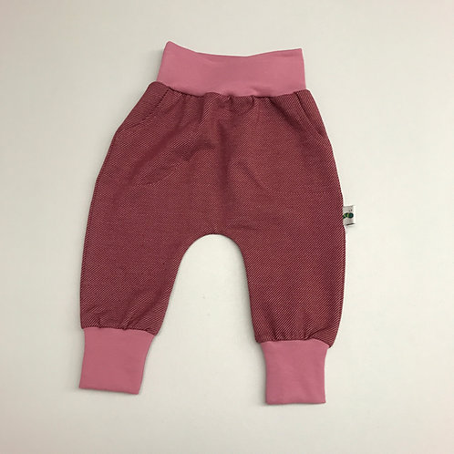 Baggy Pants Jeans rot Gr. 56-98