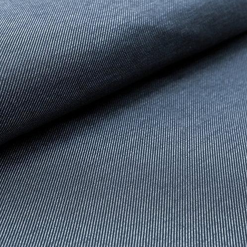 Bio-Strick De-luxe in Jeansoptik blau (GOTS)