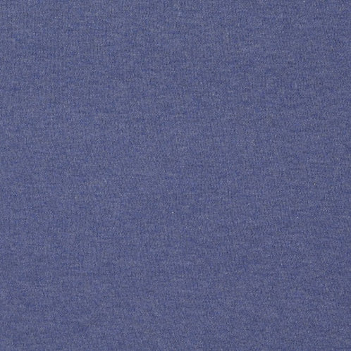 Organic Baumwoll Interlock blau