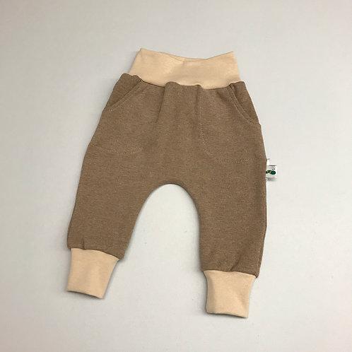 Baggy Pants braun Gr. 56-86