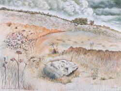 Pagan Landscape: Gathering Clouds