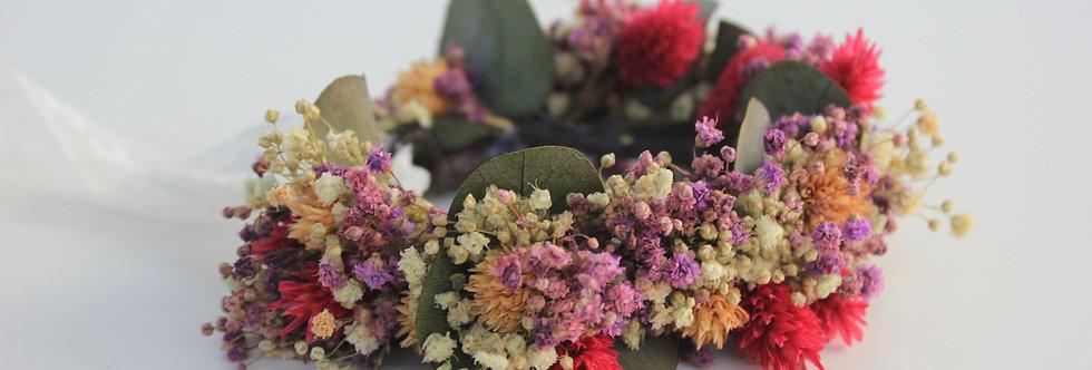 Pulsera Flor Preservada Silvestre