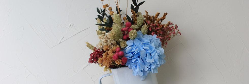 Taza de flores