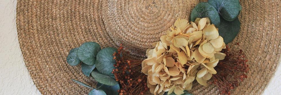 Pamela Paja Natural Flor Preservada