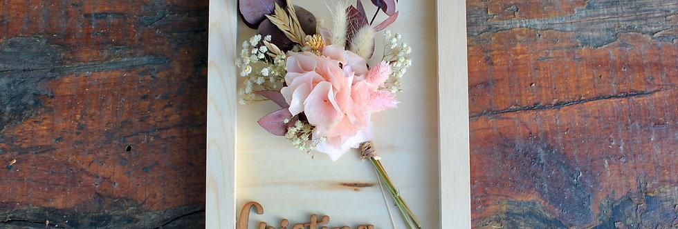Cuadro Ramo Flor Preservada