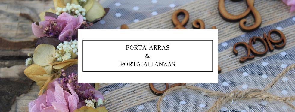 Pack Porta arras & Porta alianzas