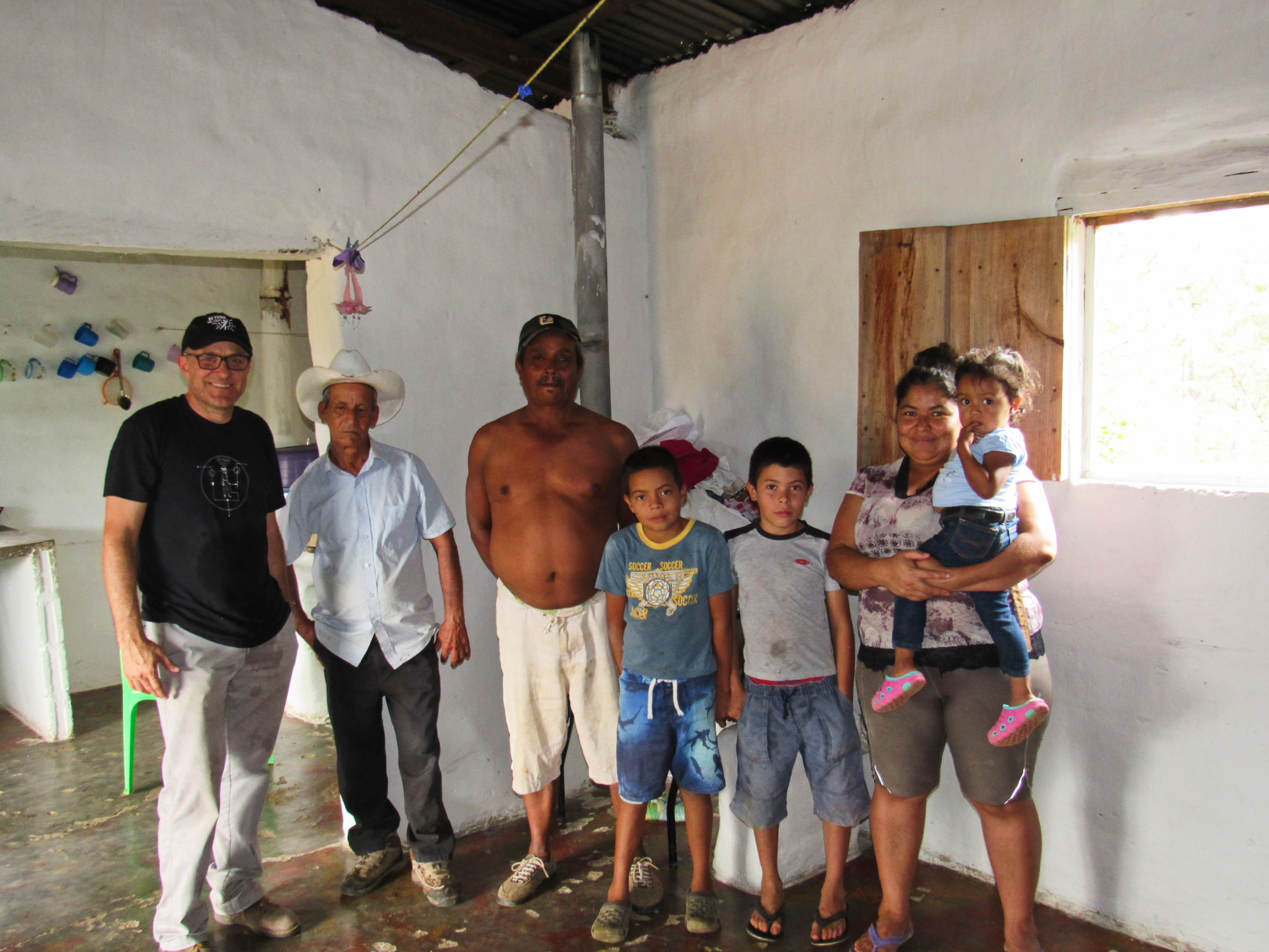 Jimmy with Family in Home
