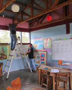 Installing at School