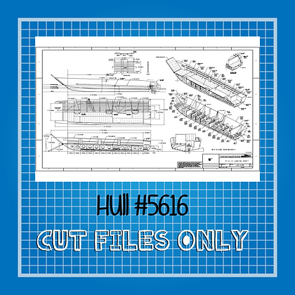 Hull #5616 Landing Craft Plans Only