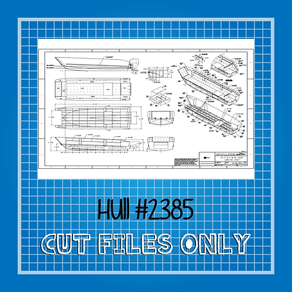 Hull #611 Landing Craft Plans Only