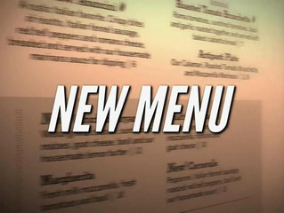 New Menu Starts In Febuary