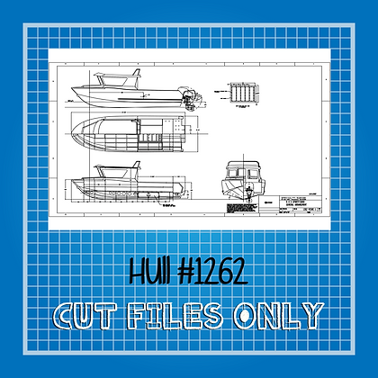 Hull #1262 Boat Plans Only