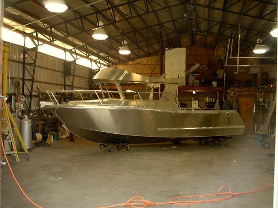 Hull #1147 Unassembled Aluminum Boat Kit