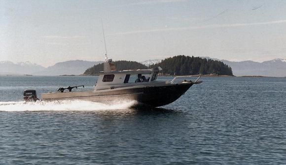Hull #912 Unassembled Aluminum Boat Kit