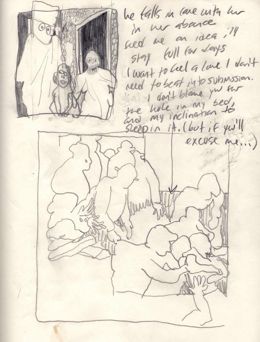Sketchbook Page / Painting Plan, 2019