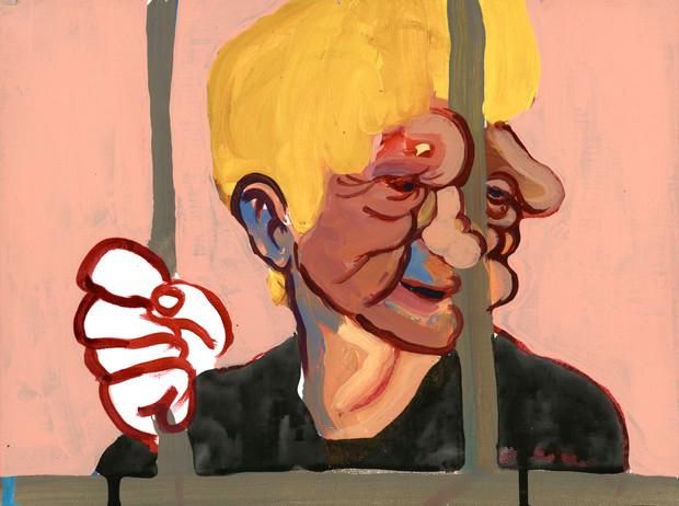 """Ice Cream And Smacks (The Jailed Boy)"", 2018"