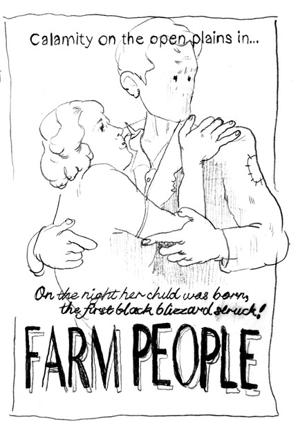 Mommee and Daddee FARM PEOPLE Poster, 2020