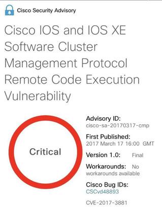 Cisco switch altyapılarındaki güvenlik açığı