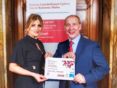 Choose2Reuse CIC Finalists in Social Business Wales Awards 2018