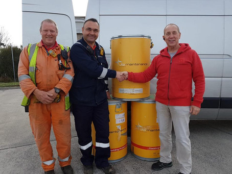 Veolia Energy Donation to Kick Off School Collections!