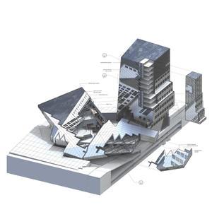 SCI-Arc extension - Design Development
