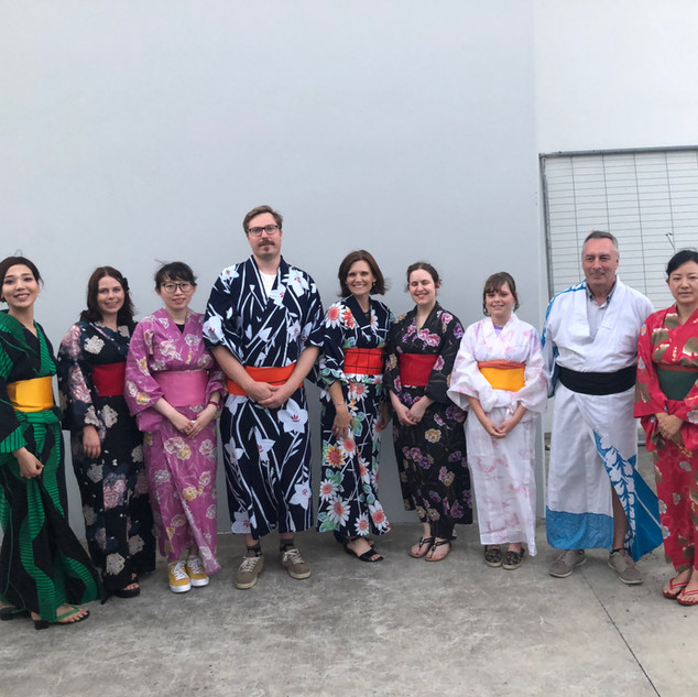 YUKATA DRESSING