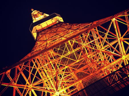 Places to visit in Japan: Tokyo Tower (東京タワー)