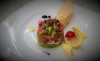 Thunfisch- Avocado- Krentartare