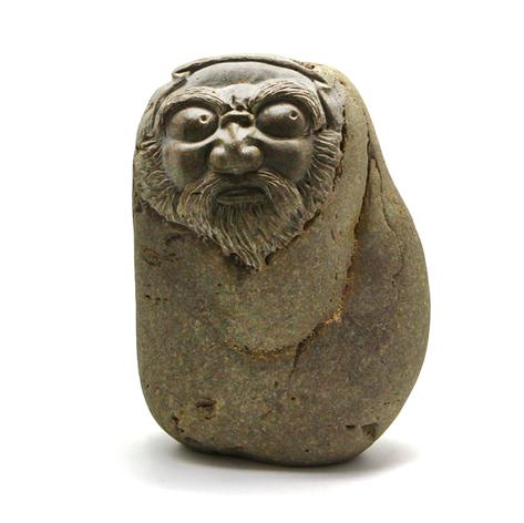 達摩石雕藝品1