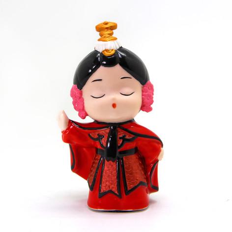 中式人偶系列(紅衣武旦)