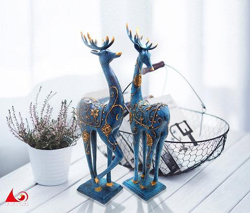 梅花鹿雕塑藝品