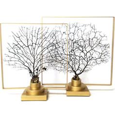 樹枝金工擺飾