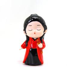 中式人偶系列(紅衣女俠)