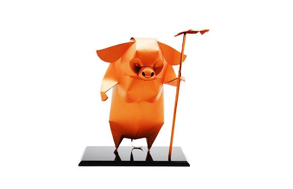 12生肖紙雕藝品 (豬)