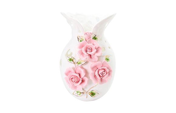 玫瑰花雕飾花器B款