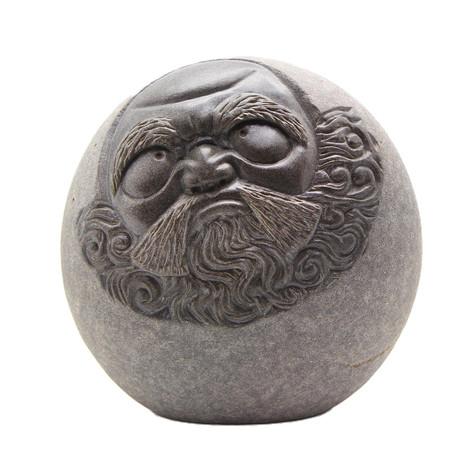 達摩石雕藝品6