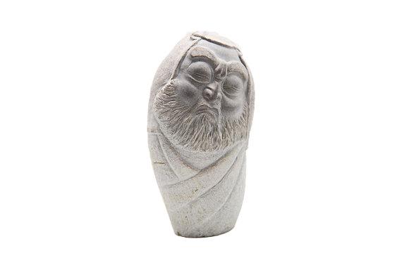 達摩石雕藝品2