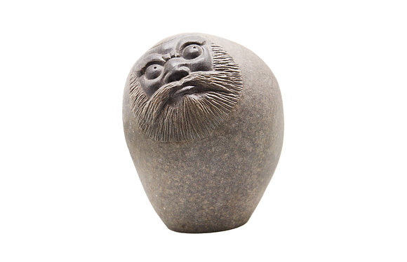 達摩石雕藝品3