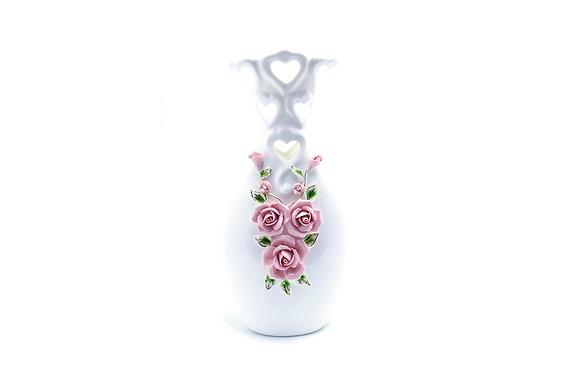 玫瑰花雕飾花器A款