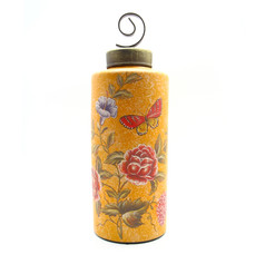植物彩繪花器