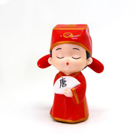 中式人偶系列(紅衣秀才)