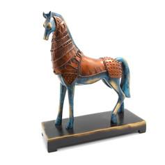 戰馬雕塑藝品