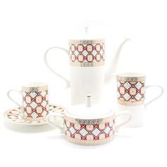 幾何造型圖騰茶具組